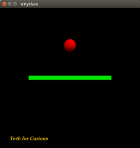 simulation of bouncing ball